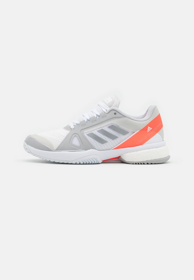 adidas Performance - STELLA COURT - Multicourt tennis shoes - footwear white/silver metallic/solar red