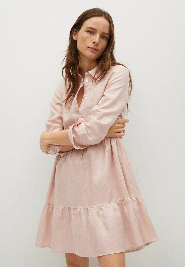 Shirt dress - rosa claro