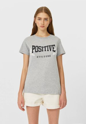 MIT PRINT  - Print T-shirt - dark grey