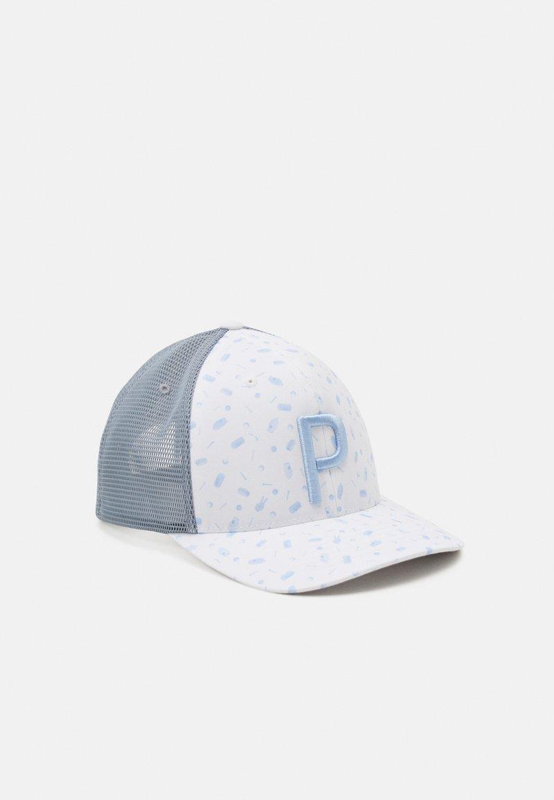 Puma Golf - SNACK SHACK TRUCKER SNAPBACK - Cappellino - bright white/mazarine blue