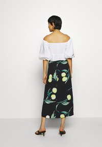 Who What Wear - SARONG SKIRT - A-line skirt - black - 2