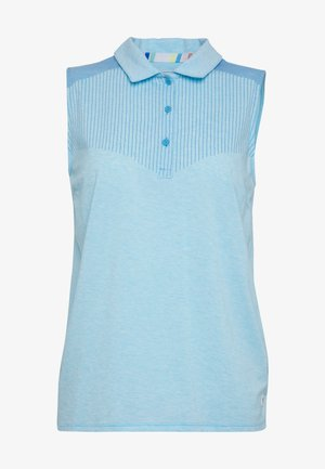 VERTICALS SLEEVELESS - Sports shirt - ethereal blue heather