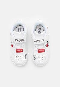 Kappa - BASH UNISEX - Zapatillas de entrenamiento - white/black - 3