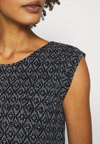 Opus - Print T-shirt - simply blue - 5