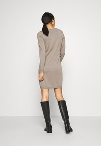 edc by Esprit - DRESS - Jumper dress - taupe - 2