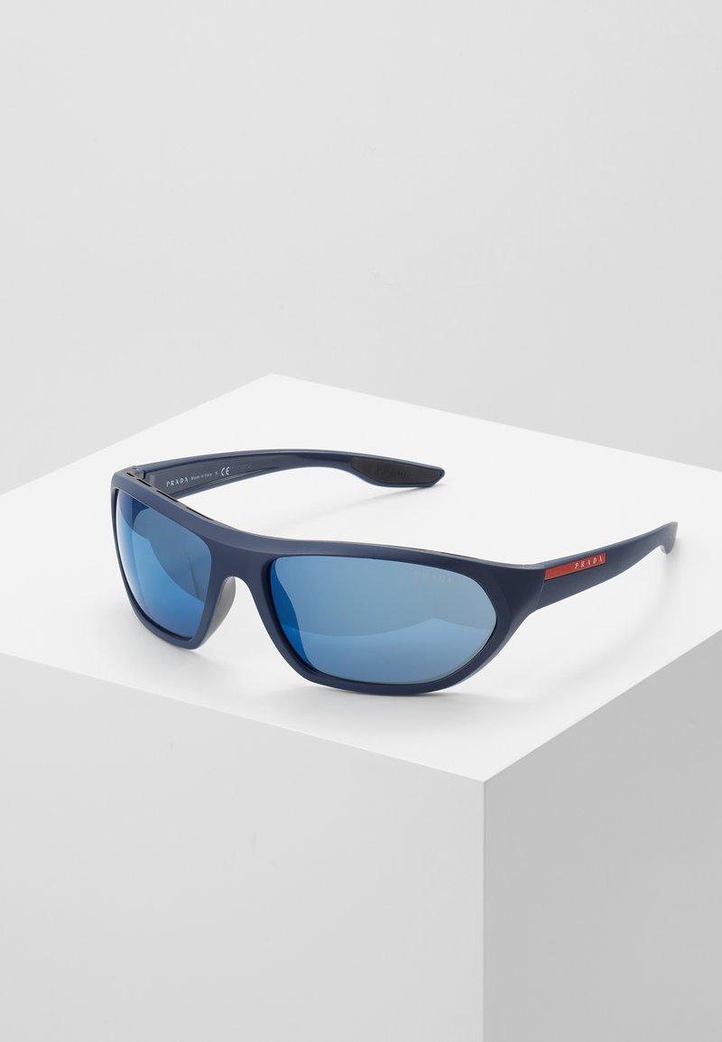 Prada Linea Rossa - Sunglasses - black/blue