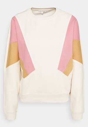 COLOURBLOCK - Sweatshirt - soft creme beige