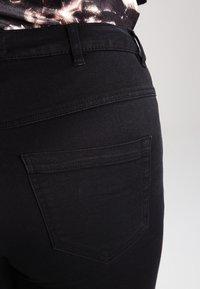 Zizzi - AMY LONG - Jeans Skinny Fit - black - 4