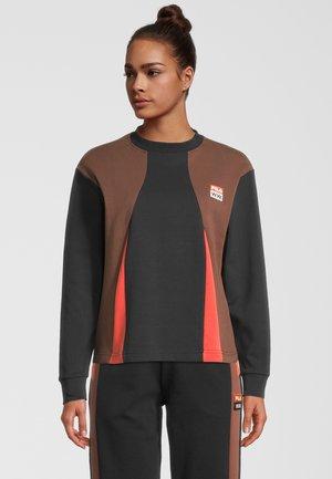 MONICA - Sweatshirt - black beauty