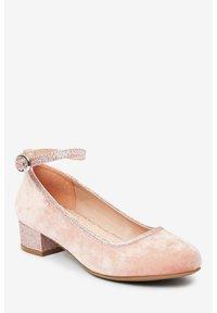 Next - MARY JANE HEELS (OLDER) - Ankle strap ballet pumps - pink - 2