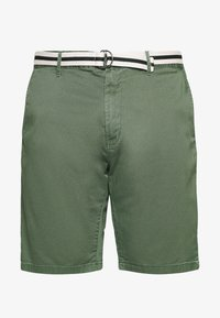 TOM TAILOR MEN PLUS - BERMUDA - Shorts - green - 4