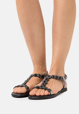 Sandali - pewter glam