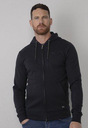 Zip-up sweatshirt - dark navy