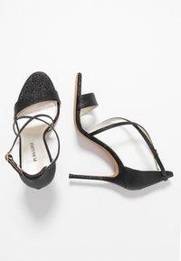 Pura Lopez - Sandalen met hoge hak - glitter black - 3