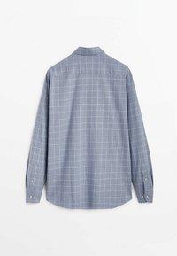 Massimo Dutti - SLIM FIT - Shirt - light blue - 5