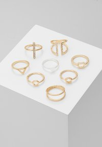 Monki - LUKA 8 PACK - Ring - gold-coloured - 0
