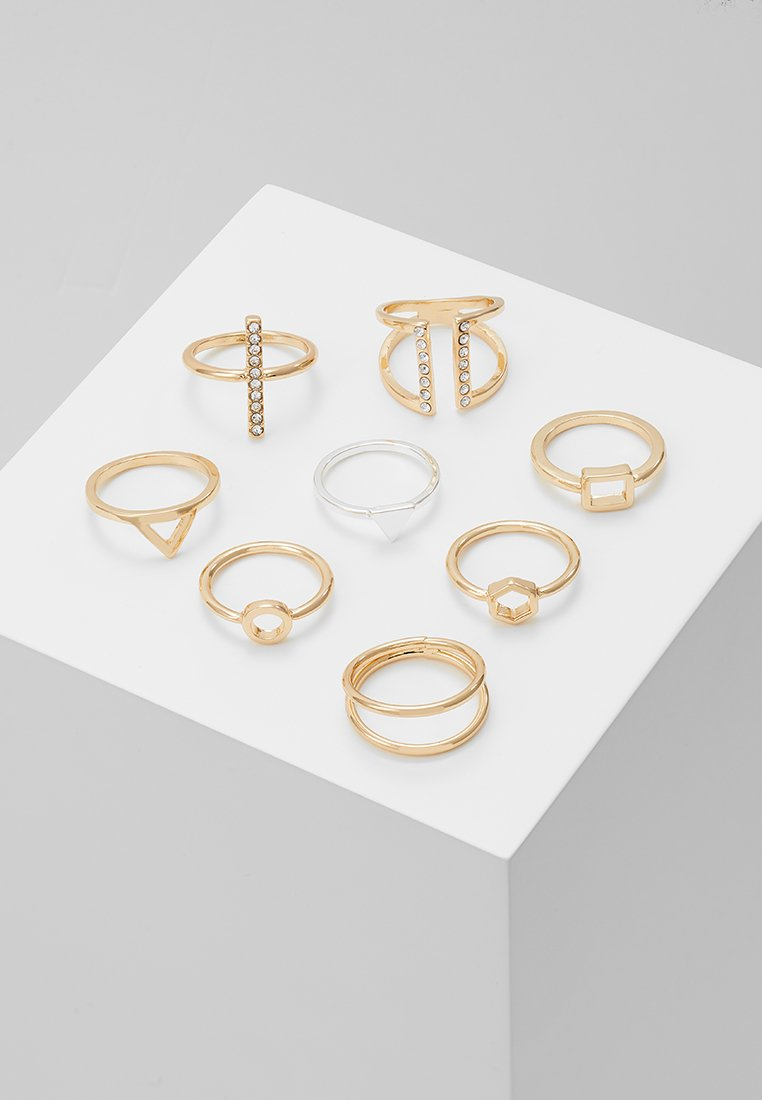 Monki - LUKA 8 PACK - Ring - gold-coloured
