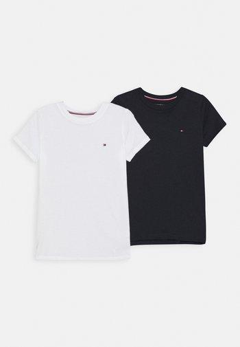 TEE 2 PACK  - Camiseta de pijama - white/desert sky
