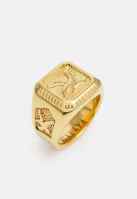Nialaya - AMERICAN EAGLE SQUARE SIGNET - Ringar - gold-coloured - 4