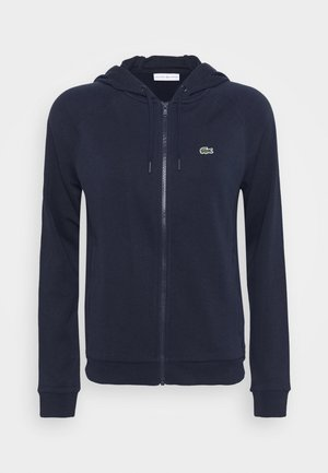 JACKET - veste en sweat zippée - navy blue