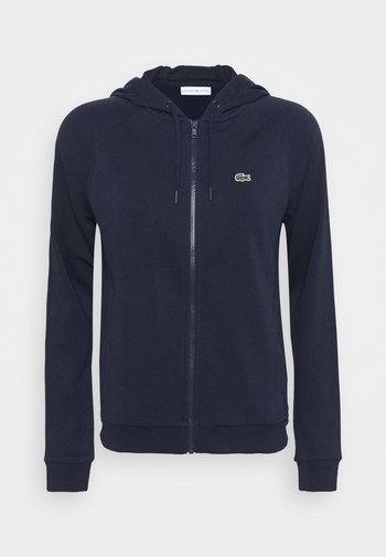 JACKET - Zip-up sweatshirt - navy blue