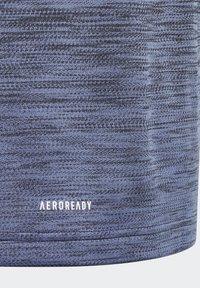 adidas Performance - AEROREADY GRADIENT T-SHIRT - Basic T-shirt - black - 3