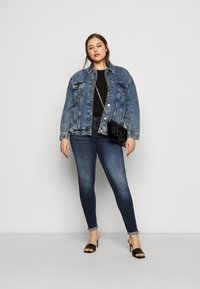 Noisy May Curve - NMLUCY  - Jeans Skinny Fit - dark-blue denim - 1