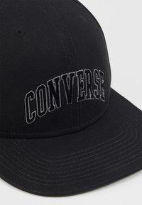 Converse - VARSITY SNAPBACK - Caps - black - 2