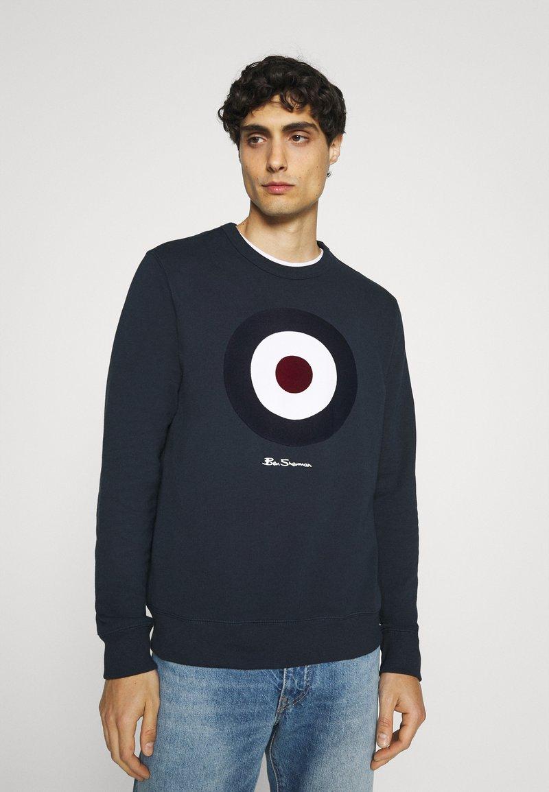 Ben Sherman - FLOCK TARGET - Sweatshirt - dark navy