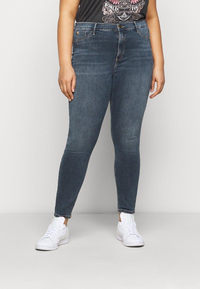 River Island Plus - Jeans Skinny Fit - dark smokey