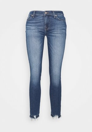 CROP LUXE VINTAGE PACIFIC GROVE DISTRESSED - Skinny džíny - mid blue