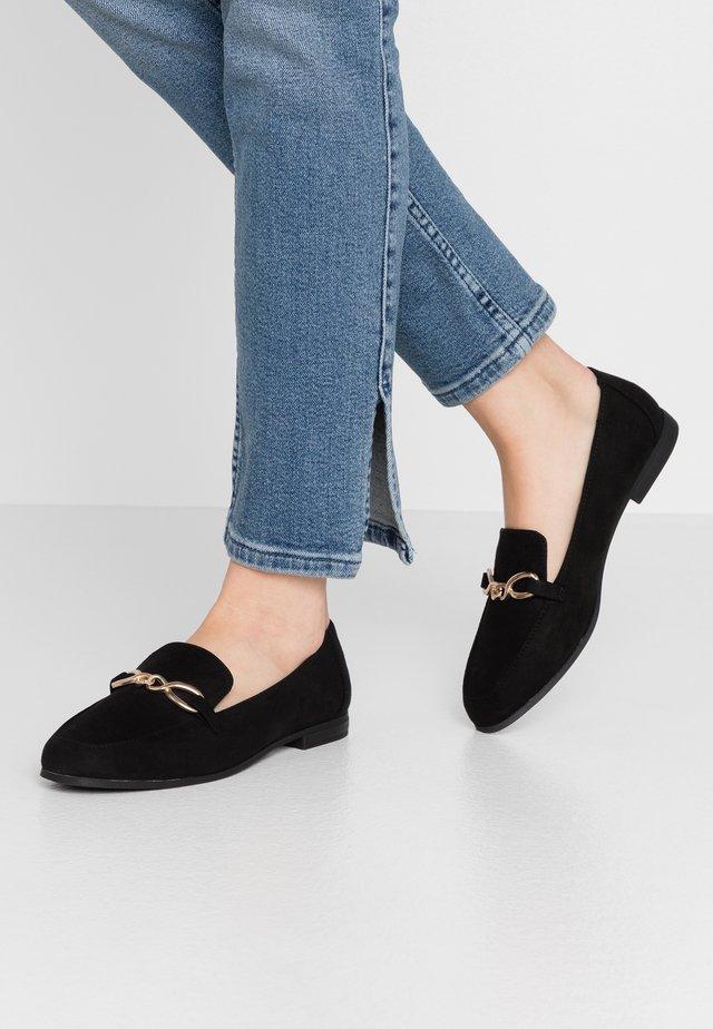 GAHO - Scarpe senza lacci - black
