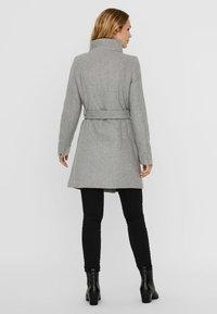Vero Moda - Trenchcoat - light grey melange - 2