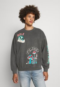 BDG Urban Outfitters - REALITY BREAK UNISEX - Mikina - washed black - 0