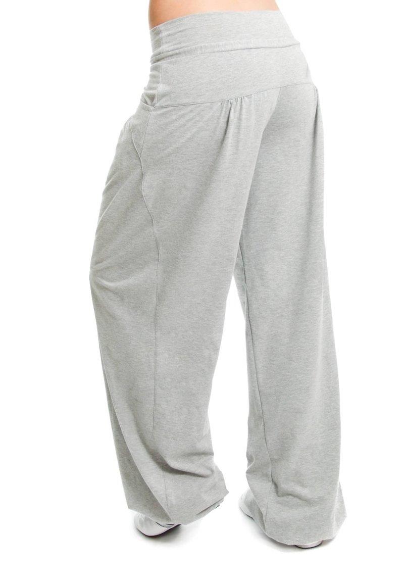 Winshape Pantalon de surv/êtement M Schwarz//Grey Melange