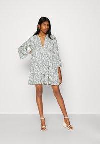 ONLY - ONLATHENA 3/4 DRESS - Day dress - white - 1