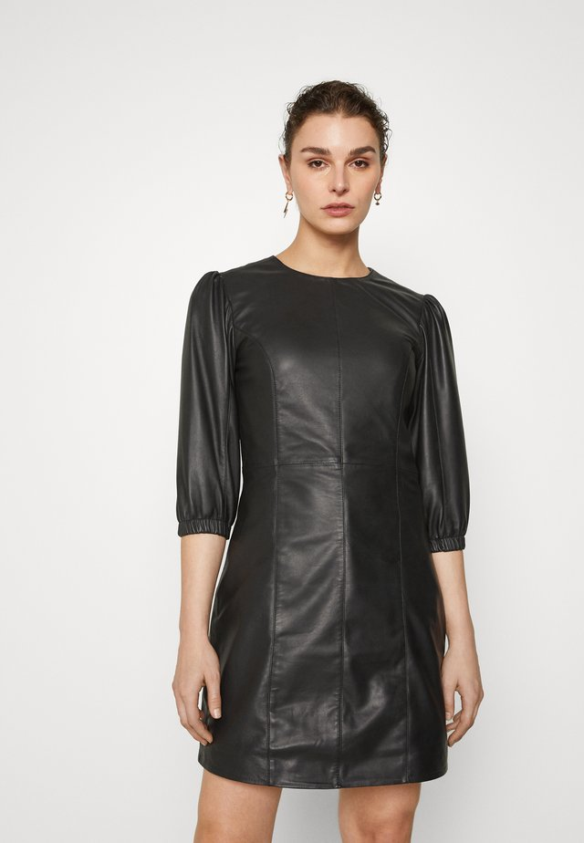 UFFIE DRESS - Vapaa-ajan mekko - black