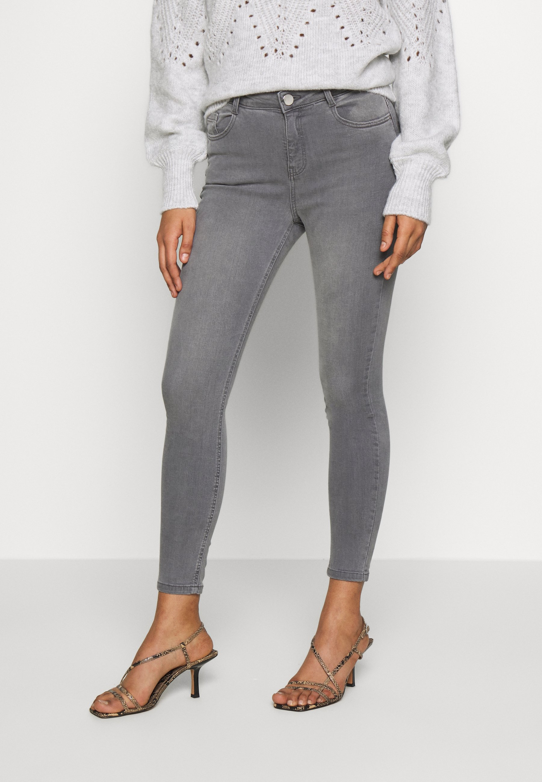 Dorothy Perkins SHAPE AND LIFT - Jeans Skinny Fit - grey denim