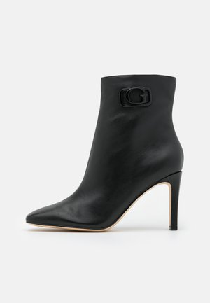 BEVELYN - High heeled ankle boots - black