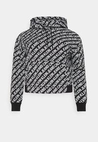 Calvin Klein Jeans Plus - Sweatshirt - black/ white - 3