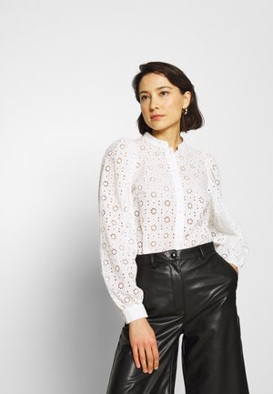 KIKI - Button-down blouse - creme