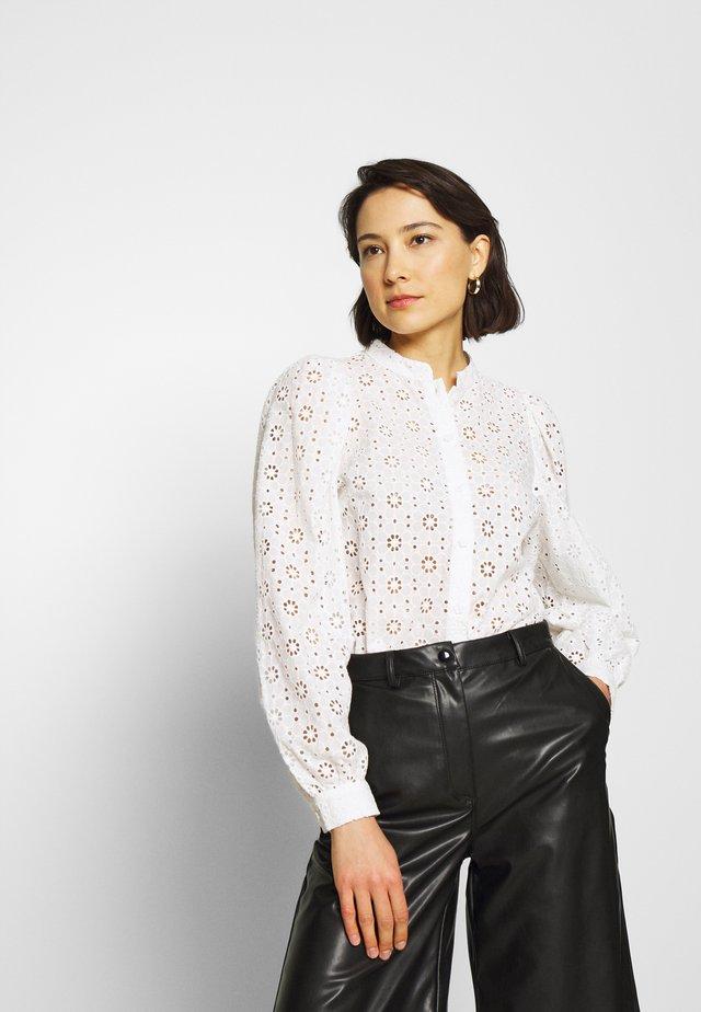 KIKI - Button-down blouse - creme