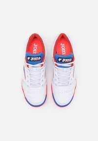 Joma - DRIBLING - Indoor football boots - white/blue - 3