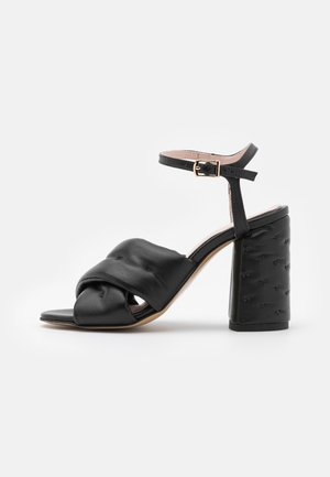 PARTY UP THE STREET - Korolliset sandaalit - black