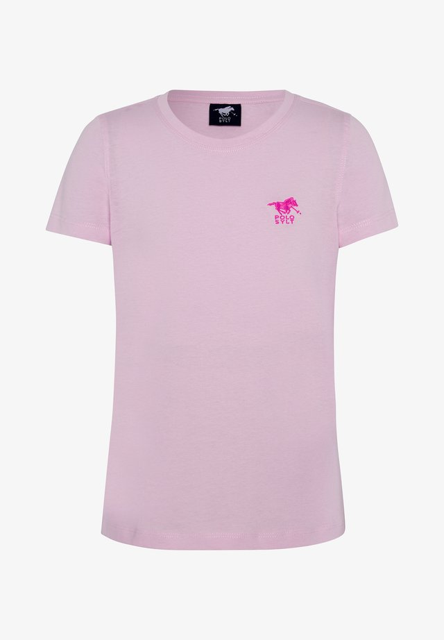 Basic T-shirt - pink lady