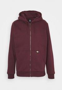 Dickies - NEW KINGSLEY - Zip-up hoodie - maroon - 0
