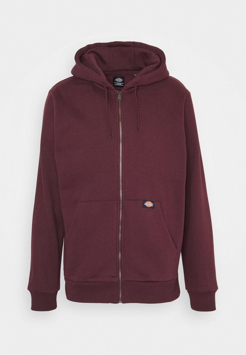 Dickies - NEW KINGSLEY - Zip-up hoodie - maroon