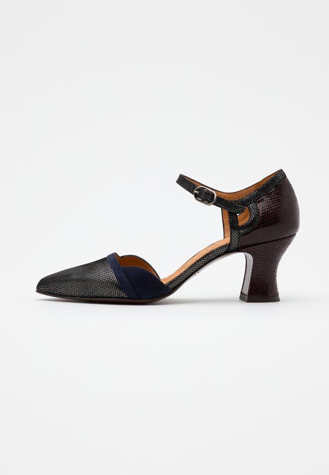 VUTIN - Classic heels - noche/grape