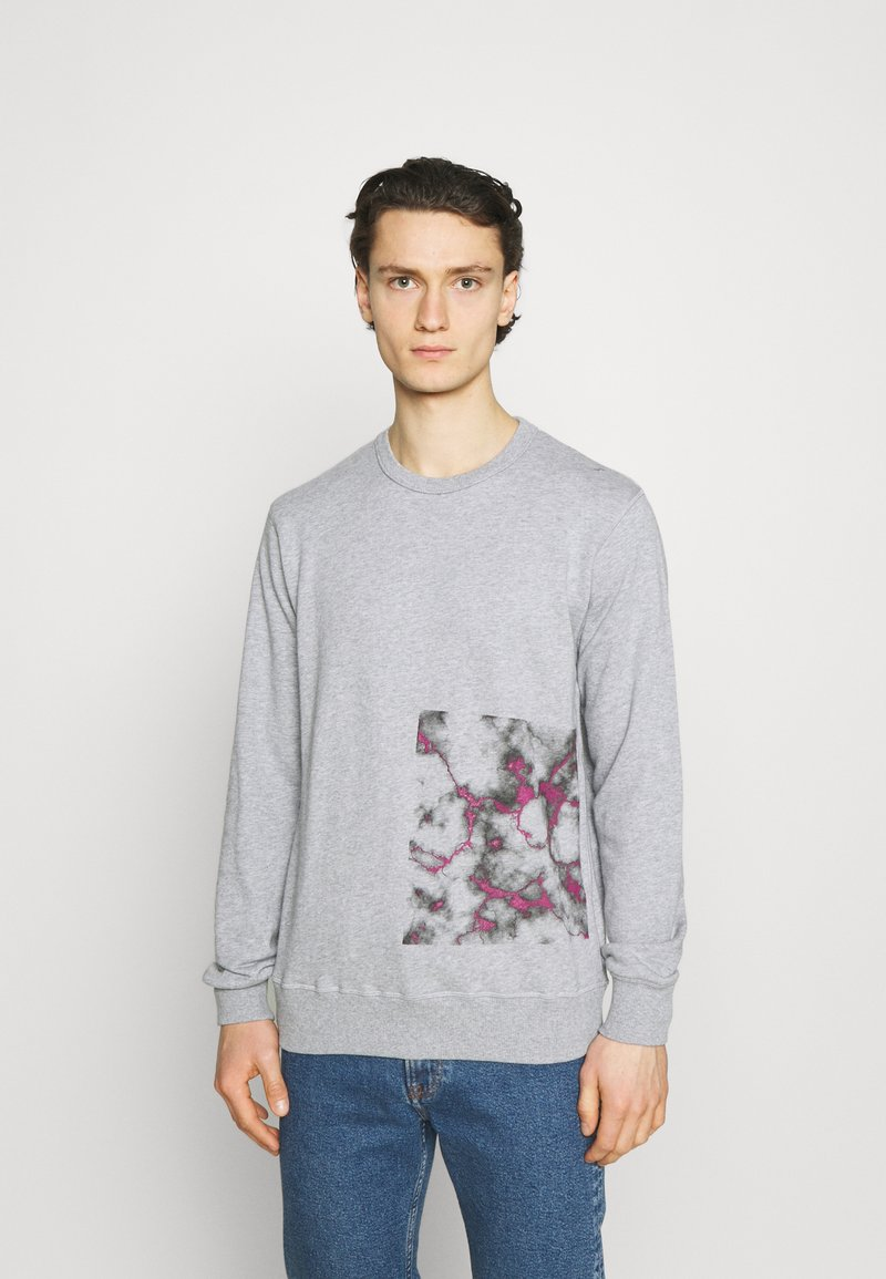 YAVI ARCHIE - BARCODE - Sweatshirt - grey