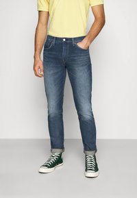 Levi's® - 511™ SLIM  - Straight leg jeans - dark indigo - worn in - 0
